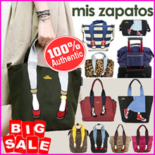 【BUY 2 FREE SHIPPING】[100% AUTHENTIC ]MIS ZAPATOS 💕3-WAY BACKPACK TOTE SHOULDER BAG 💕 travel bags