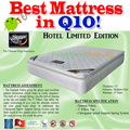 """Sleepy Night Hotel Limited Edition with 3"""" Pillow Top Mattress. Free and Fast Delivery. King/Queen/Super Single/Single sizes available."""