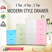 MODERN STYLE DRAWER * Plastic Storage Drawer/Cabinet With Wheels * Hot Selling In Japan And Korea * Eco-Friendly * ABS Material * Elegant Design * Good Quality * Multi-Tiers * Multi-Colors * Spacious