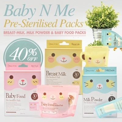 Baby N Me Tmilk Milk Powder Babyfood Storage Bag