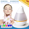 ▶Water-drop shape Aroma Humidifier Diffuser◀GDA GDC- Fine and Smooth Mist/Absorbing/Through the Cuticle/No Dry/Mute and Purifying/Removable Base/LED/5 Colors