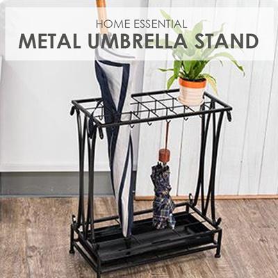Qoo10 Metal Umbrella Stand Home Essential Organization Furniture Deco