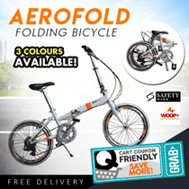 🔥30% Storewide $295 Fiery Hot Deal🔥Woop+ Aerofold Folding Bicycle Bike + Free Shipping