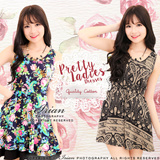 ♥ LuvClo ~ Korean Pretty Ladies Floral Dress D7833