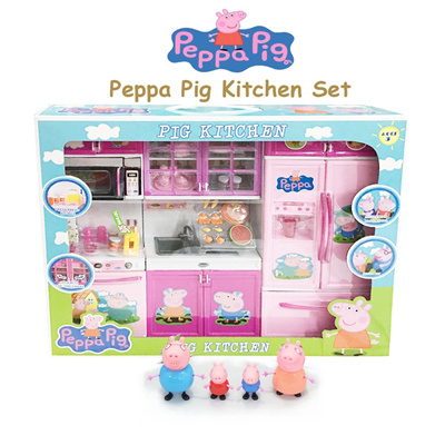 Qoo10 bigger set peppa pig kitchen set new launch for Qoo10 kitchen set
