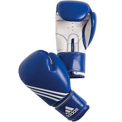 アディダス(adidas) 'Training' Boxing glove ブルー 12oz ADIBT02 【ボクシンググローブ ムエタイ キックボクシング パンチンググローブ トレーニング】の画像
