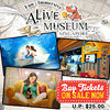 PROMOTION QOO10 ALIVE MUSEUM TICKETS SALE!!! ETICKET AVAILABLE HASSLE FREE SINGAPORE LOCAL TOURIST ATTRACTIONS TICKET CHEAPEST