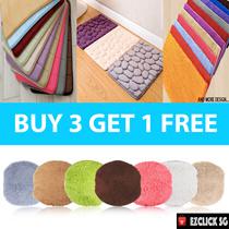 [BUY 3+1 Free] Memory Foam Carpet Anti-Slip Bath Mat Floor Carpet Bathroom Door Rug *Many Design*