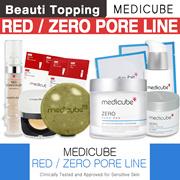 BIG PROMO! SAVE $13★MEDICUBE★Red / Zero LINE (Red Body Bar / Zero Pore Pad / Serum / Cream)