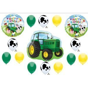 Qoo10 Anagram Tractor Birthday Party Balloons Decorations Farm