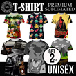 SPECIAL OFFERS ★ ★ ★ BUY 1 GET 1 FREE ★ ★ ★ UNISEX TSHIRT PREMIUM SUBLIMATED-50 NEW DISGN- VAV TEES Full Printed unisex tshirt! good quality!