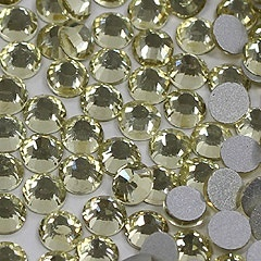 【クリックで詳細表示】高品質ガラス製ラインストーン ゴールド SS4 1.5-1.7mm (約350粒)【ラインストーン:電化製品:家電・AV・カメラ:スマートフォン:スマートフォンアクセサリー】
