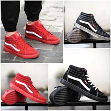 2016秋冬新品メンズアンクル板鞋、韓版靑春男学生を助けるために赤い靴トレンドカジュアル潮の靴