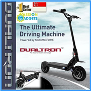 ★KOREA MINIMOTORS★DUALTRON Electric scooter Foldable Scooter! Dual drive motor EX+ S