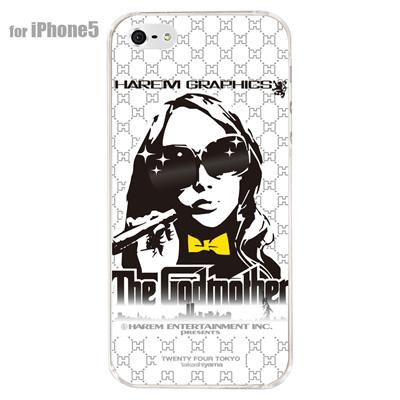 【iPhone5S】【iPhone5】【HAREM graphics】【iPhone5ケース】【カバー】【スマホケース】【クリアケース】 HGX-IP5C-004の画像