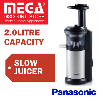 Qoo10 - PANASONIC MJ-L500SSH SLOW JUICER / LOCAL WARRANTY : Home Electronics