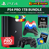 ★PS4 PRO 1 TB Super Valud Bundled★ PS4 PRO 1TB Bundled. 2 Dual Shock Wireless Controllers + 1 Game Choice + 3 Months PSN Membership n More Freebies. Local Ready Stocks and 15 Months Warranty!