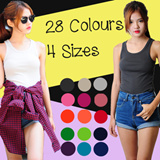 Trendy Colourful Tanktops
