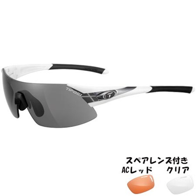 ティフォージ(Tifosi) ポディウム XC ホワイト/ガンメタルTF1070105801 【自転車 サイクリング ランニング アイウェア サングラス】の画像