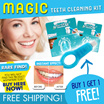 ★MAGIC TEETH CLEANING KIT. Buy 1 Get 1 Free!!! ★Chemical FREE. ★SGS Report provided. ★