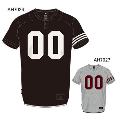 アディダス (adidas) M REVO スウェットプラクティスショートスリーブシャツ BCN10 [分類:野球 トレーニングジャケット]の画像