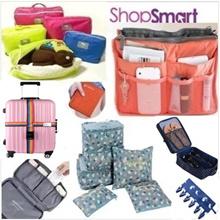 **Travel Organizer**Bag in Bag Organizer|Travel Essentials Necessities Bag Accessories Pouch Luggage