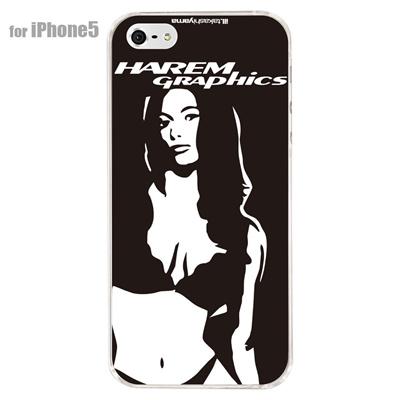 【iPhone5S】【iPhone5】【HAREM graphics】【iPhone5ケース】【カバー】【スマホケース】【クリアケース】 HGX-IP5C-006Aの画像
