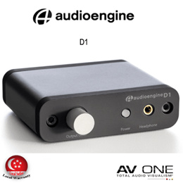 [AUDIOENGINE] D1 24-bit DAC / Amp / 3 Year Local warranty from Authorized Distributor