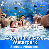【Sentosa Adventure Cove Waterpark】Admission ticket Singapore Attractions E-tickets Resort world