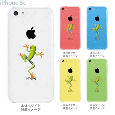【iPhone5c】【iPhone5c ケース】【iPhone5c カバー】【ケース】【カバー】【スマホケース】【クリアケース】【クリアーアーツ】【せまるカエル】 08-ip5cp-ca0032の画像