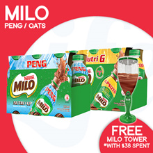 [NESTLE] Mix n Match MILO NUTRI G AND NUTRI UP RTD【FREE MILO TOWER with min. spend of $38!】