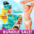 [PnG] 【FREE 1 BOTTLE SWISSE MULTIVITAMINS】50% OFF! Pampers Baby Dry Easy Ups Swaddlers Cruisers - World No.1 Diapers! Free and Speedy Delivery! Lowest Price in SG! Maternity Kids