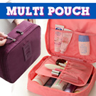 RESTOCK!!SUPER SALE !!! MULTI POUCH ~ TRAVEL ORGANIZER ~ TOILETRIES ~ COSMETICS BAGS