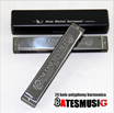 New 2015 Swan 24 Hole Octave-tuned harmonica Key of C with Case