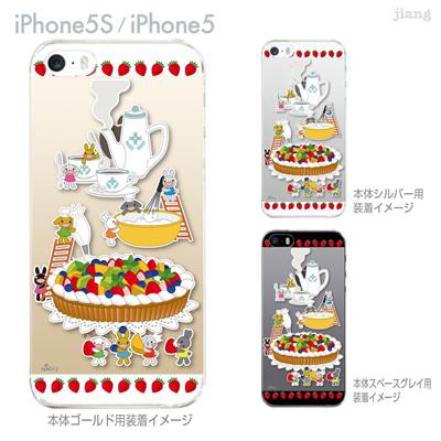 【iPhone5S】【iPhone5】【NAGI】【iPhone5ケース】【カバー】【スマホケース】【クリアケース】【アニマル】【ティーパーティー】 24-ip5s-ng0027の画像