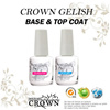 ★Bundle Promotion Crown Gelish Base / Top Coat★ Wipe / Non-Wipe Gelish Gel Nail Polish ★ UV LED ★