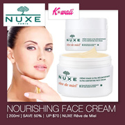 [1+1 Best Deals] NUXE Rêve de Miel® Face Cream Day 50ml or Rêve de Miel® Cleasing Gel 200ml from Paris! Your Choice of Combination! NEW STOCK!