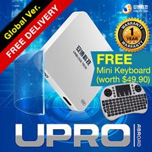 +**TRADE-IN NOW**++ UBoxGen4/GUbox Upro1/2BT Jailbreak/Android 7 Free WEB VOD+BTEarpiece+AM =S$49.99