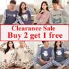 Couple Pajamas/Top and bottom Set/COUPLES SLEEPWEAR/Nightdress/Sleeveless Short-sleeve Long-sleeve