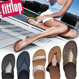 [Shoexpress] Fitflop Collection! free shiping! 100% orginal! super jelly lulu novy Skinny Shimmer slide KYS