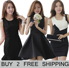 2015 New push  Korea Style  Hot selling Casual/sexy/dating/work Dress/Tops/RED Dress