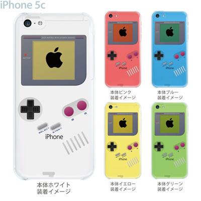 【iPhone5cケース】【iPhone5cカバー】【iPhone 5c ケース】【スマホケース】【クリア】【クリアケース】【イラスト】【クリアーアーツ】【懐かしのゲーム機】 08-ip5cp-ca0075の画像