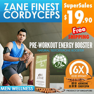 $19.90 SuperSales Boost Physical Fitness n Men Sexual Performance ZANE Finest Cordyceps Deals for only S$50 instead of S$0