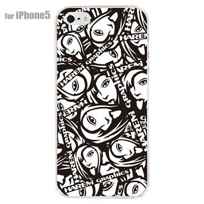 【iPhone5S】【iPhone5】【HAREM graphics】【iPhone5ケース】【カバー】【スマホケース】【クリアケース】 HGX-IP5C-012の画像