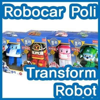 【クリックで詳細表示】[アカデミー科学][Academy]Robocar Poli Transformer Robot/Poli/Roi/Amber/Heli/変身ロボット/車/ポリ/ロイ/アンバ-/ヘリ/プレゼント/子供おもちゃ/フィギュ