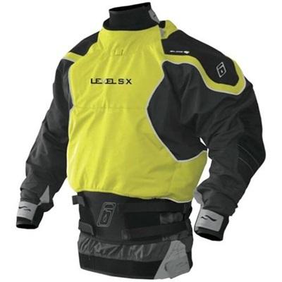 レベルシックス(LEVEL SIX) Reign 3 ply L/S Dry Bright Yellow/Charcoal M LS13A000000233 【カヌー カヤック ドライスーツ】の画像