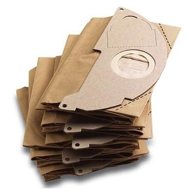 ケルヒャー(KARCHER) 乾湿両用 バキュームクリーナー用 紙パック 5枚入り (MV2用) 6.904-322.0 【家庭用 掃除機 オプション】の画像