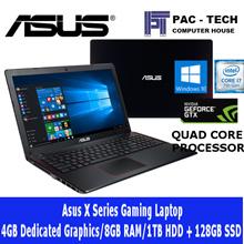 Asus Gaming Laptop X550V/i7 Quad Core/4GB Graphics/8GB RAM/1TB HDD+128GB SSD/2 Year Warranty
