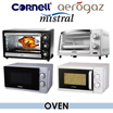 ASSORTED BRANDS / Microwave Oven / Electric Oven / Mistral / Cornell / Aerogaz / Assorted Capacity