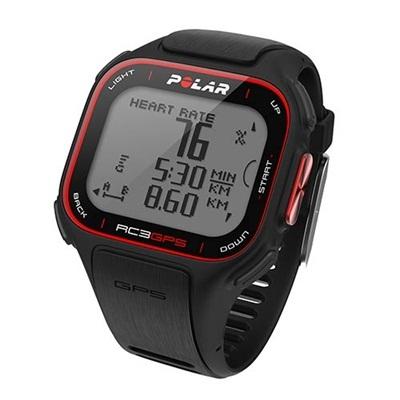 ポラール(Polar) RC3 GPS (心拍センサーなし) ブラック 90051077 【ランニングウォッチ 腕時計 GPS 国内正規品】の画像